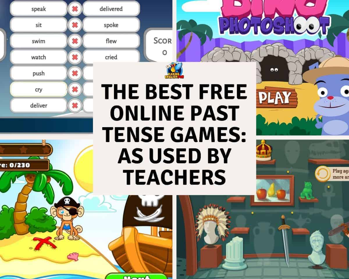 The best Free Online Past tense Games